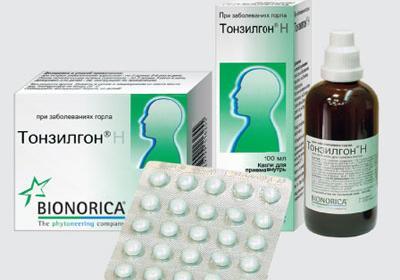 препарат тонзилгон инструкция - фото 10