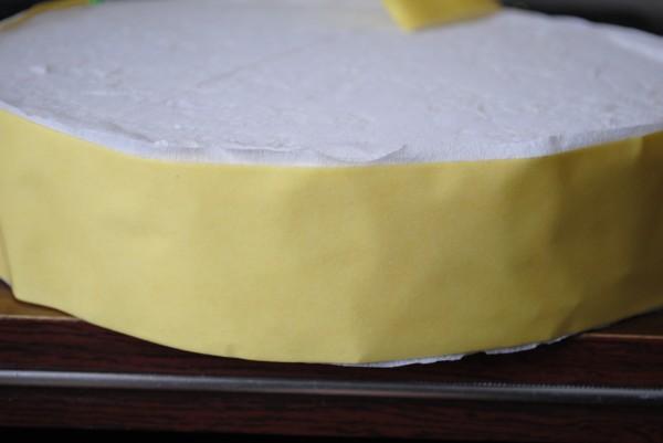 Как сделать чтобы торт стоял