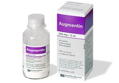 на аугментин побочные