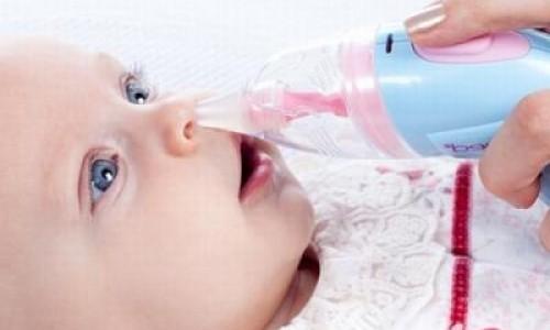 Как чистить носик новорожденному