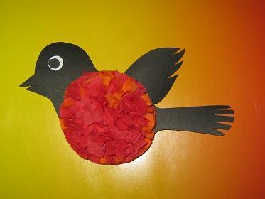 Птичка своими руками из салфеток своими руками
